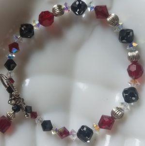 Jewelry - Swarovski Crystal and Sterling Silver Bracelet